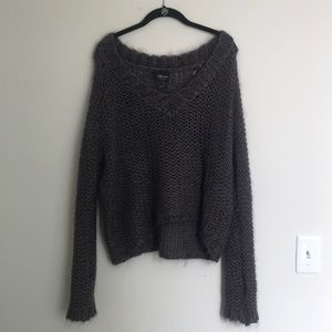 Zara Italian knit sweater